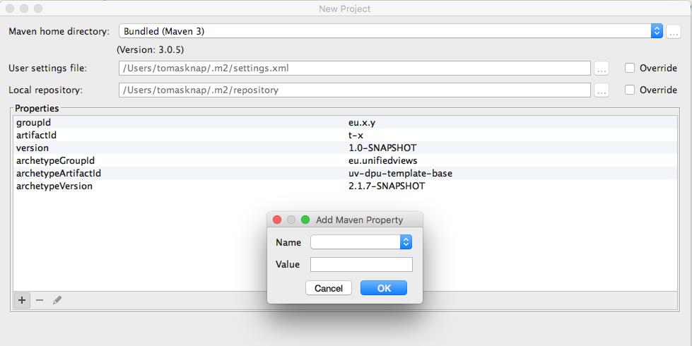Creating a New DPU Using IntelliJ - PoolParty Manual 7 0